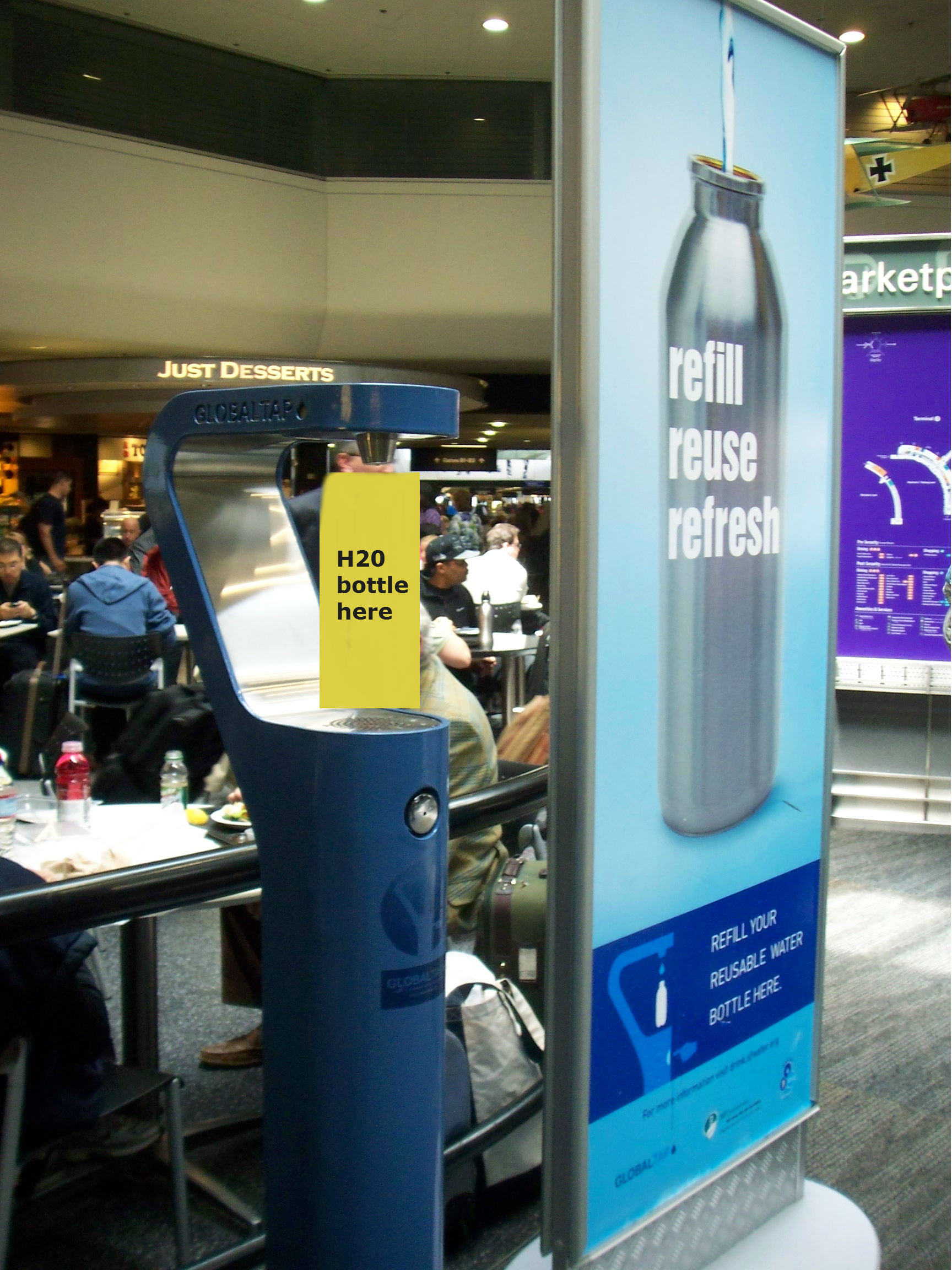Drinking Water Refill Station