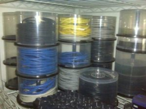 Use Old CD Cases to Store and Organize Cables