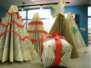 Creative Holiday Crafts With Recycled Library Materials