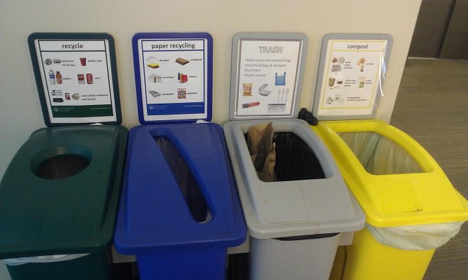 recycle bins JHU